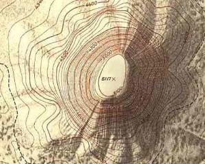topographic surveying - topographic map